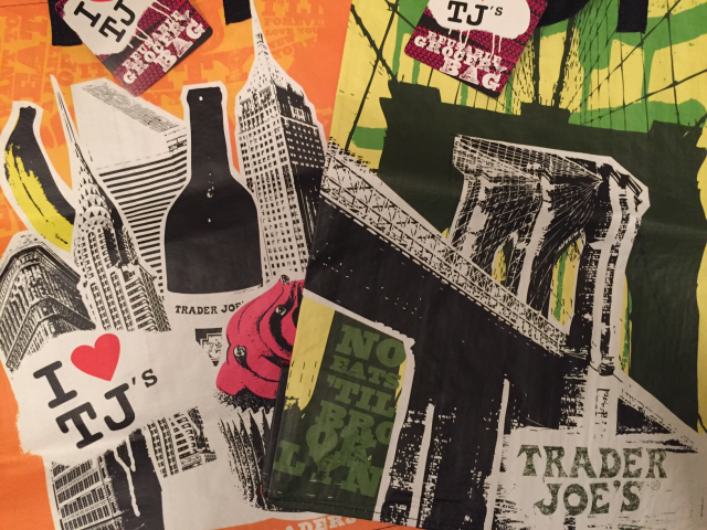New York City souvenirs tip tassen van Trader Joe's