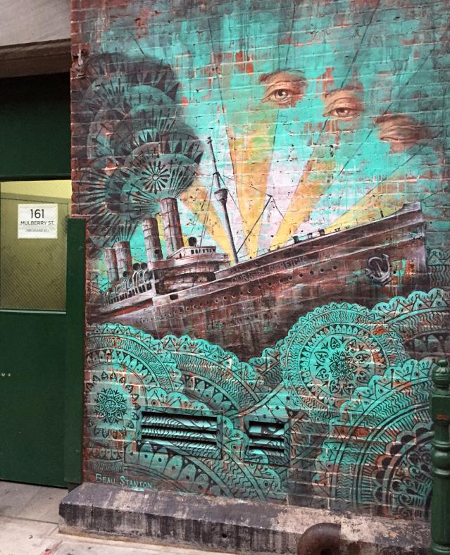 Mulberry Street streetart run Lower East Side