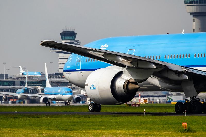 Boeing 777 KLM Schiphol