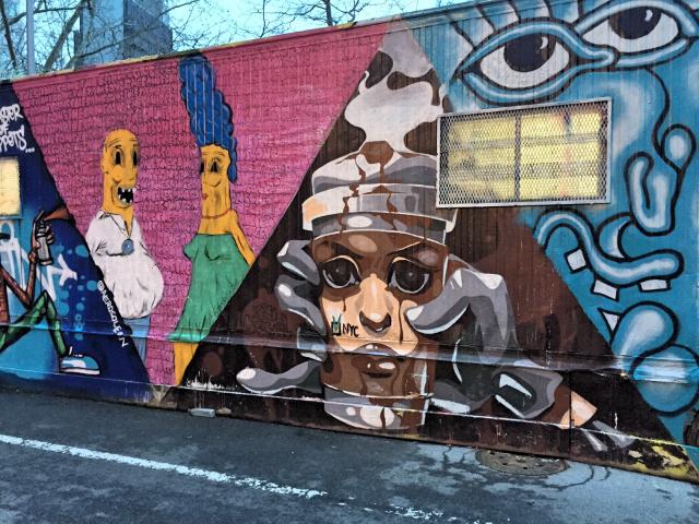 streetart run Lower East Side