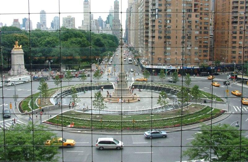 Columbus Circle from Time Warner