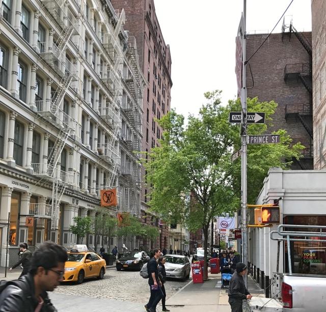 Soho en Nolita - Prince and Greene Street