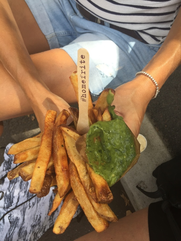 Delicious homefrite fries