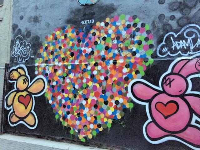 First Street Garden streetart run Lower East Side