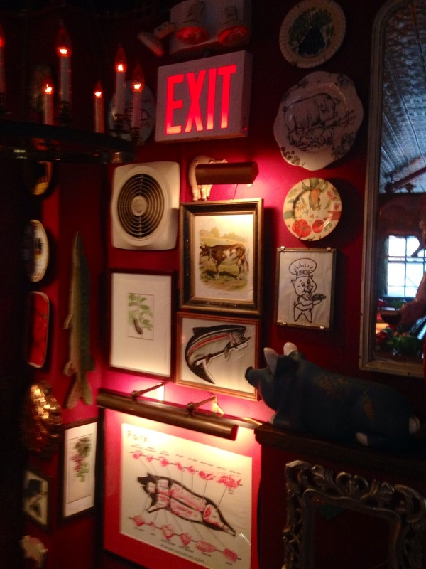 Interior at The Spotted Pig