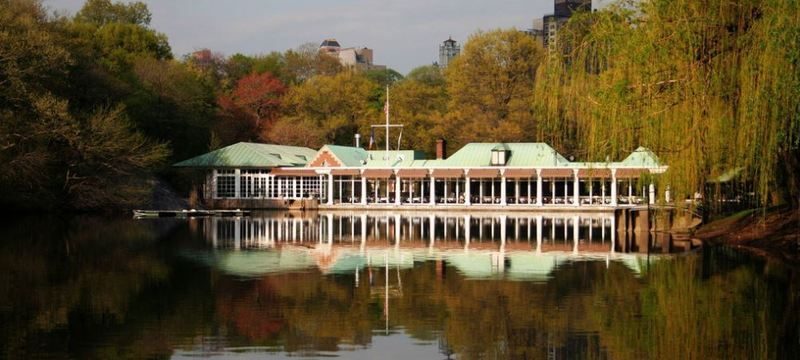 Loab Boathouse in Central Park