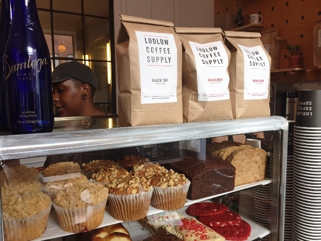 Ludlow Coffee Supply counter