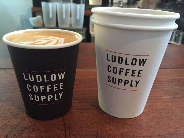 Ludlow Coffee Supply cups
