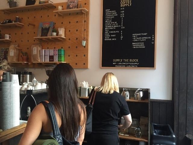 Ludlow Coffee Supply interior