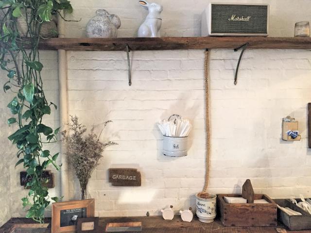 Maman NYC coffee station
