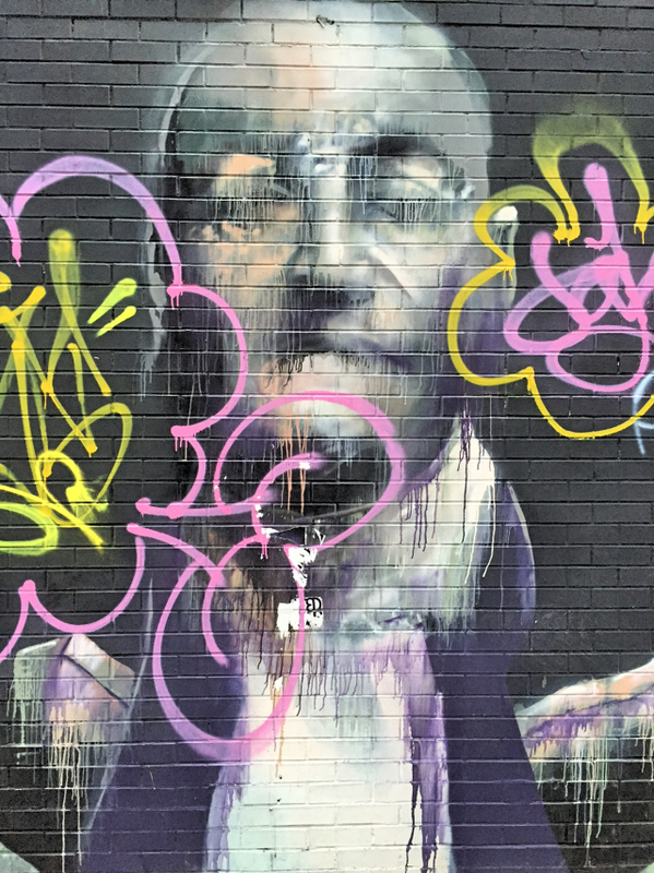 The godfather streetart run Lower East Side