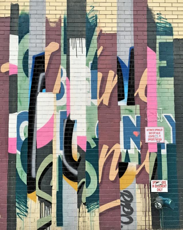 Lafayette Street streetart run Lower East Side