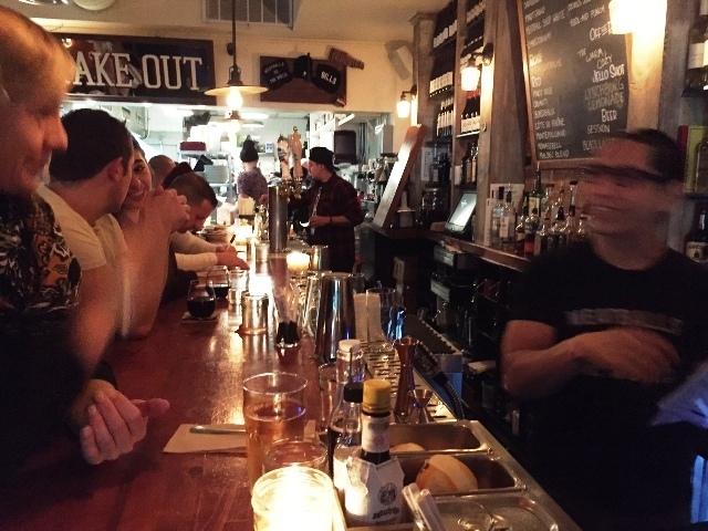 Meatball Shop bar
