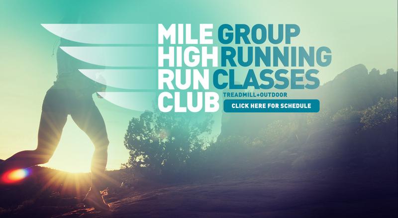 Mile High Run Club advert