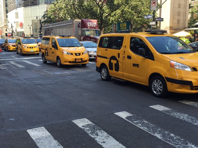 NYC Taxi near Herald Square