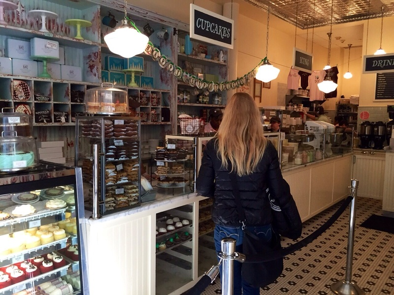 Newyorkcitytrippers at the Magnolia Bakery