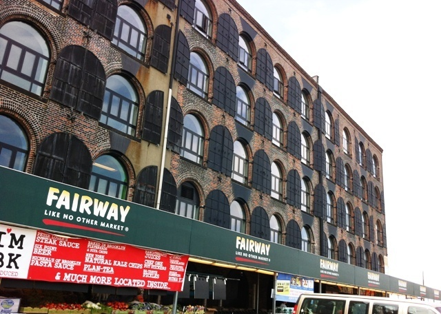 Fairway Supermarkt Red Hook leuke wijk in Brooklyn