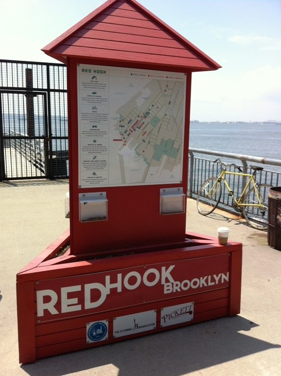 Red Hook een leuke wijk in Brooklyn