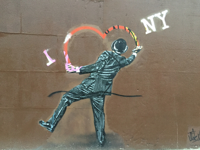Nick Walker streetart run Lower East Side