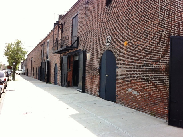 Warehouses in Red Hook Brooklyn