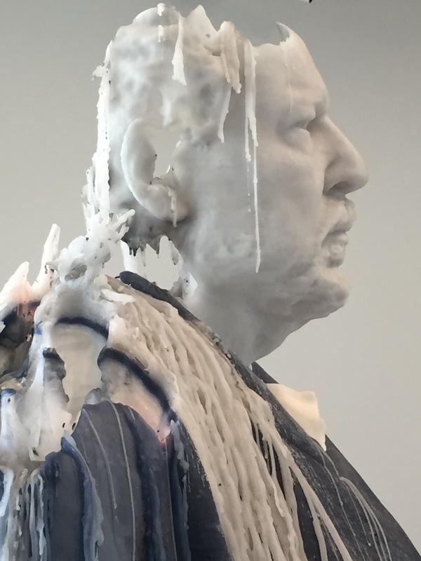 Standing Julian sculpture Urs Fischer
