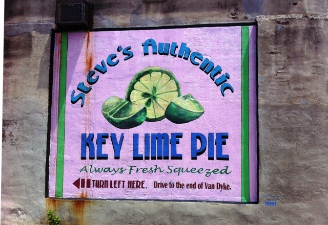 Steves_Key_Lime_Pie in Red Hook leuke wijk in Brooklyn