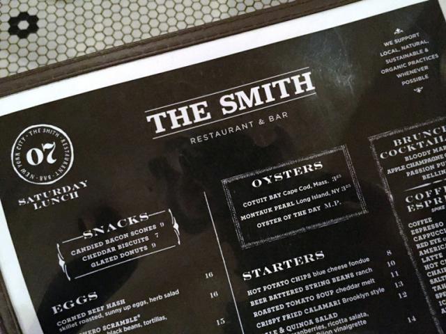 The Smith_menu