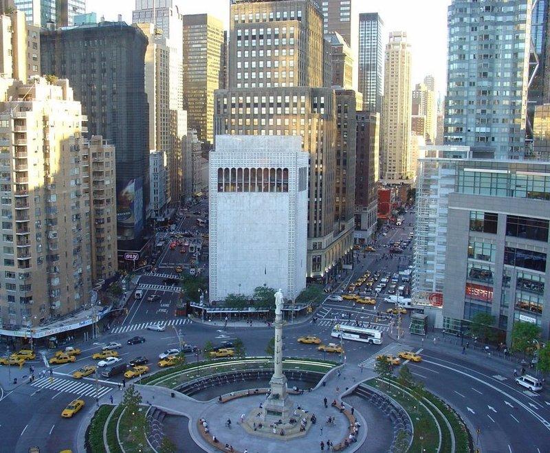 View on Columbus Circle