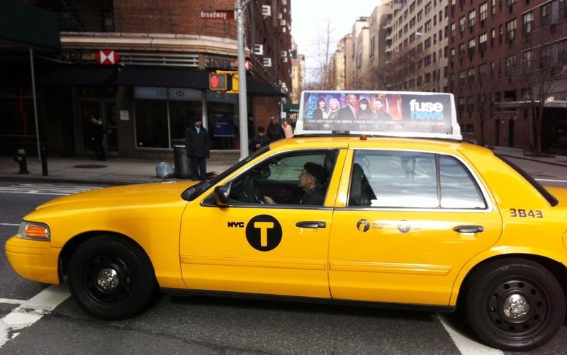 Yellow Cab - gele taxi in New York