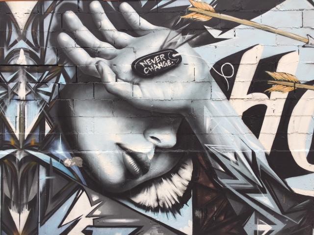 Bushwick streetart tour at Moore Street