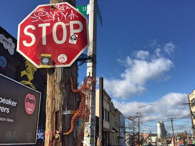 Bushwick streetart tour St Nicholas Ave