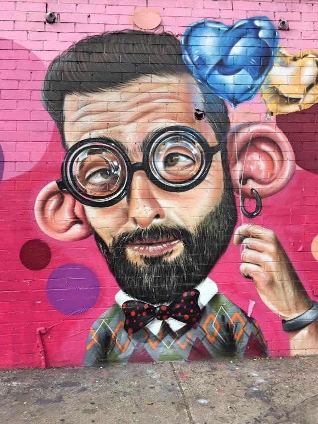 Bushwick streetart tour Troutman Sipros