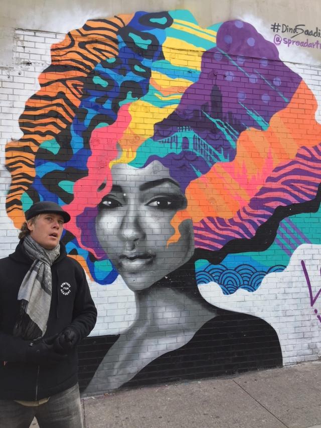 Bushwick streetart Troutman Street