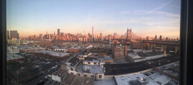 View on Manhattan from Z Hotel Queens