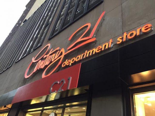 Designer deals shoppen Century 21
